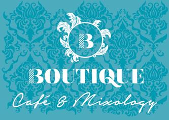Boutique Café & Mixology logo